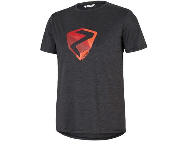 Ziener Nolaf Camiseta Hombre, flint melange